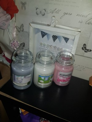 3x candles