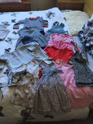 Selection of girls clothes age one to one and a half. Loads more than in pics. £50 Ono