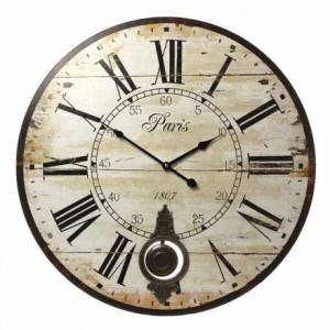 ?PARIS PENDULUM WALL CLOCK 58CM? ?£26.99? Message me for