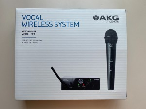 Wireless system with microphone AKG WMS40 Mini - Vocal Single