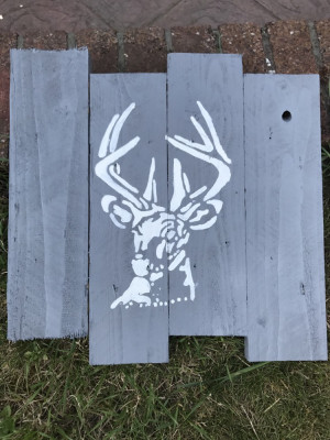 Hand Made picture of Stag