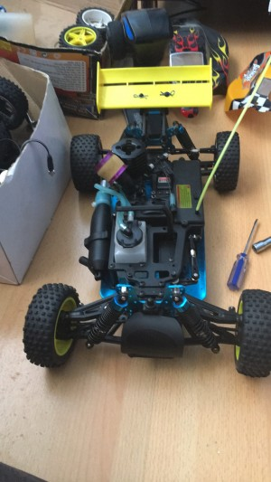 Rc car for sale need pull start to work