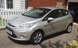 Ford Fiesta Ztech 1.25L, excellent condition, full service history, new tyres.