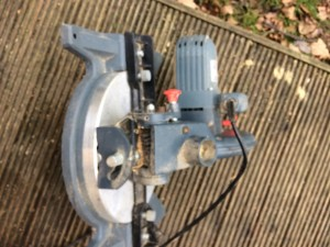 Mitre saw used good conditions £40