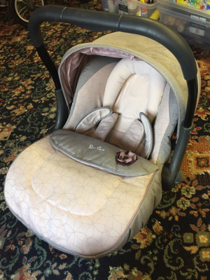 silver cross car/carry seat