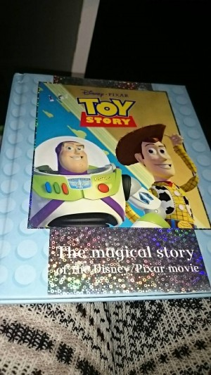 toy story the magical story book