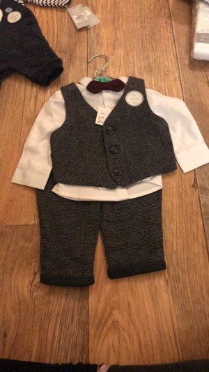 Brand new baby boys outfit 0-3 months