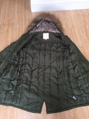 BHS Winter Coat with Faux fur hood