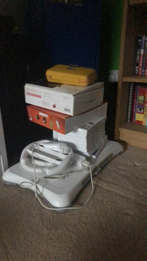 WII and DS XL.