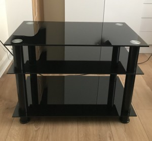 Modern Glass Tv Table