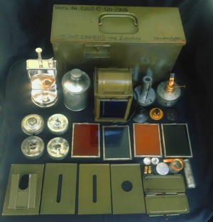 Antique Army Lantern Set From Germany