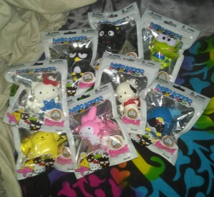 Sanrio Squishme Collectible Toy Full Collection