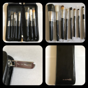 Mac make up brushes which case brand-new
