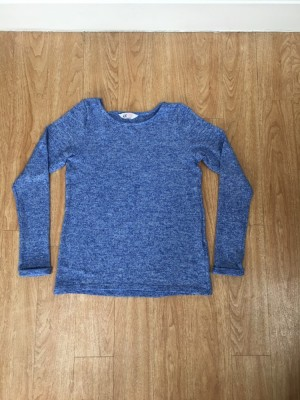 Blue H&M light weight jumper