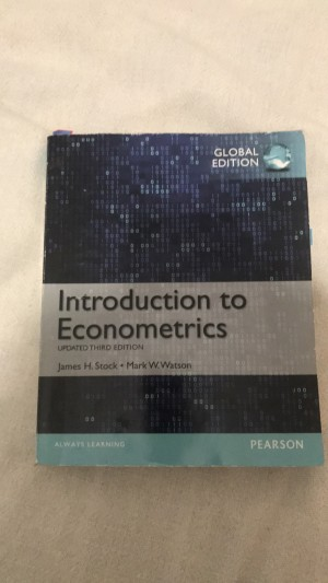 Introduction to Econometrics 3rd Edition