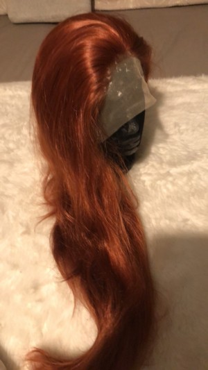 Synthetic Lace frontal wig