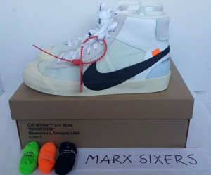 "Nike x off white Blazer Mid ""The Ten"" By Virgil Abloh"