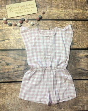 Girls playsuit age 4-5