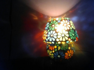colourful bulb lamp