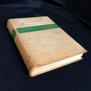 1956 Edition General Chemistry - Rare Book
