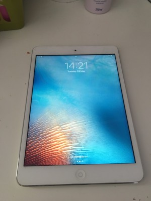 iPad mini 16GB white/silver