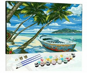 Brand New DIY Oil Paint by Number Kits On Canvas