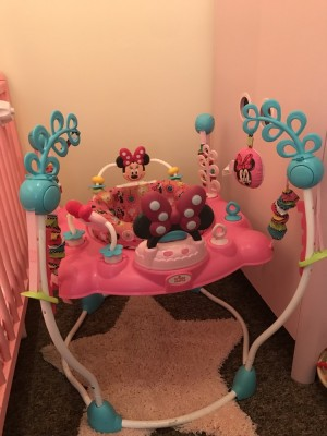 Minnie Mouse musical light up jumperoo