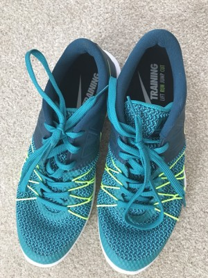 Nike training shoes, uk8