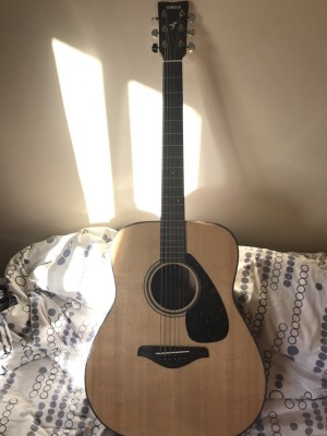A 99%new yamaha guitar for sale