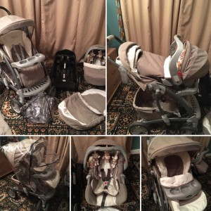 Graco Quattro Tour Deluxe Bear and friends Travel System Single