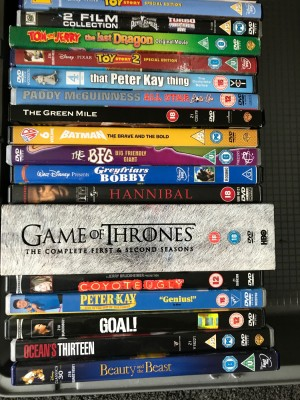 Multiple DVD's including some classics as on show, all or individual.