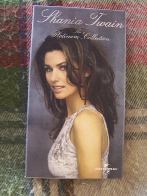 Shania Twain Platinum Collection VHS tape