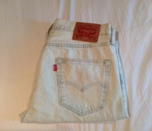 LEVIS 501 CT Jeans (NEW/UNWORN
