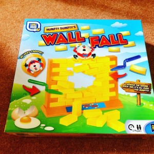 Humpty Dumpty Wall Game Remove The Bricks Toy Fun Family Party Holiday