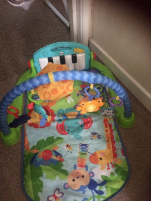 baby swing playmat and bouncer and tommee tippee food blender