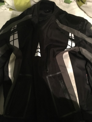 A star motorcycle jacket