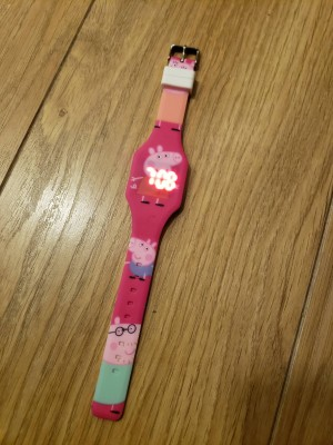 Peppa Pig Glow in the dark watches