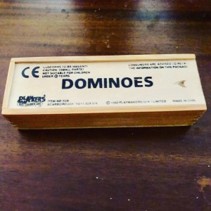Original Scarborough Dominoes 1990 Playmakers Fun Family Holiday Party