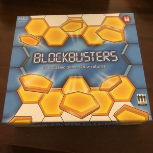 M&S Official Retro Blockbusters TV Game Travel Party Mini Family Board