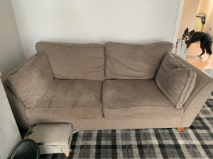 Marks and Spencer's grey 2&3 seater sofas