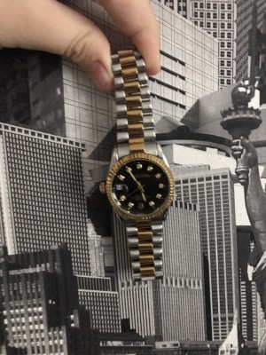 Rolex gold and silver