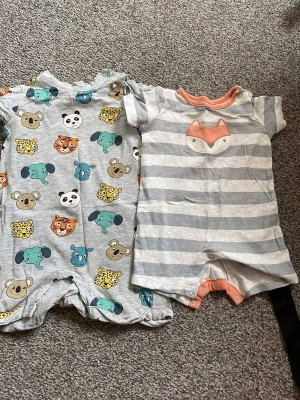 baby rompers x2