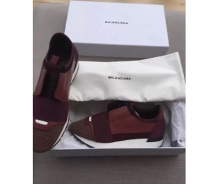 Balenciaga Runners Size 5 Maroon Unisex - Brand New in the box. £320 ONO