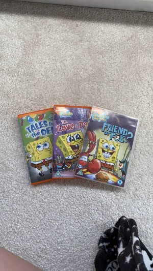 Spongebob Squarepants, need to be sold as a set