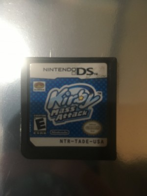 Kirby Mass Attack DS game