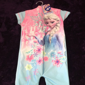 Frozen swim suit 12-18m