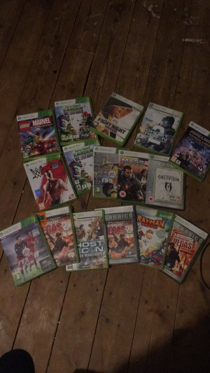 Bundle of xbox 360 games, a few duplicates