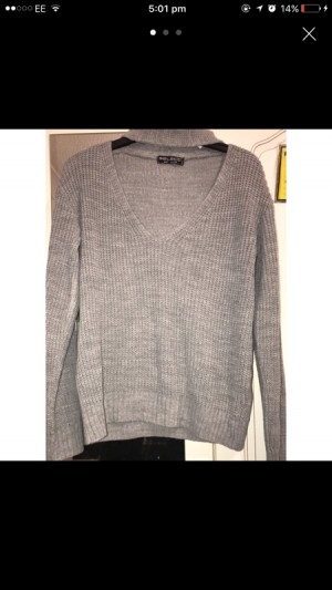 Grey Knitted Select Jumper