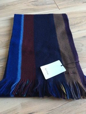 Paul Smith men's scarf bnwt rrp £125