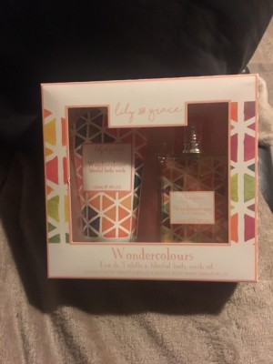 Lily & Grace Wondercolours Body Gift Set New
